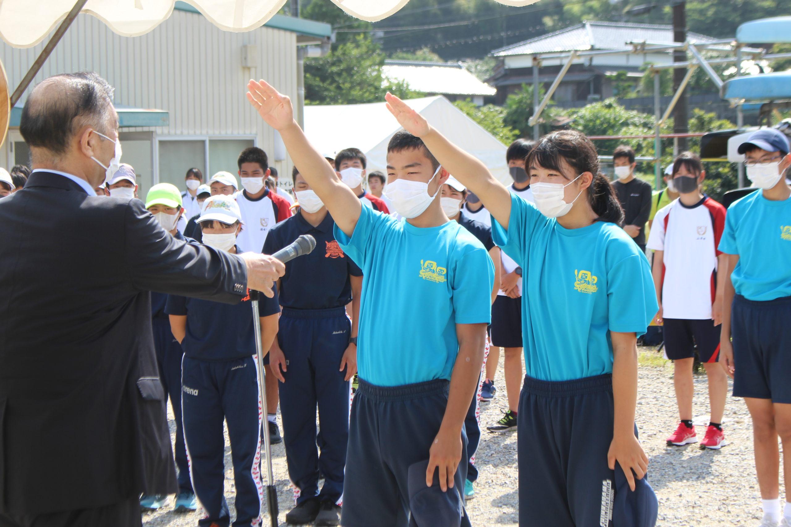第27回愛知県中学校カヌー大会 – 愛知県カヌー協会